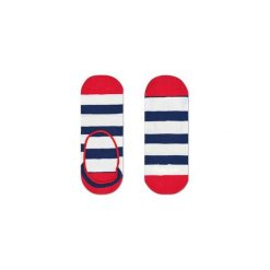 Skarpetki LINER Happy Socks STR06-6000. Szare skarpety męskie Happy Socks, w kolorowe wzory. Za 19.53 zł.