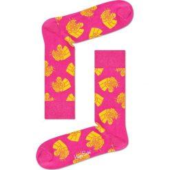 Happy Socks - Skarpety Jaguar. Różowe skarpety męskie Happy Socks, z bawełny. W wyprzedaży za 29.90 zł.