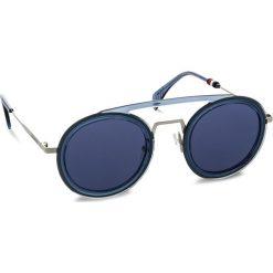 Okulary przeciwsłoneczne TOMMY HILFIGER - 1541/S Blue PJP. Niebieskie okulary przeciwsłoneczne damskie Tommy Hilfiger. W wyprzedaży za 479.00 zł.