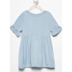 Sukienka - Niebieski. Sukienki dla dziewczynek marki Reserved. W wyprzedaży za 39.99 zł.