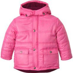 Kurtka parka z kapturem bonprix różowy flaming. Kurtki i płaszcze dla chłopców bonprix, z polaru. Za 79.99 zł.