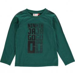"""Koszulka """"Thomas 702"""" w kolorze niebieskim. Zielone t-shirty dla chłopców marki Lego Wear Fashion, z nadrukiem, z długim rękawem. W wyprzedaży za 49.95 zł."""