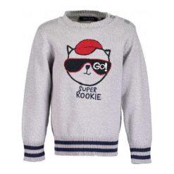Blue Seven Chłopięcy Sweter Z Kotem, 68, Szary. Swetry dla chłopców marki Reserved. Za 69.00 zł.