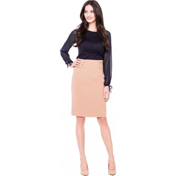 b37cc2be Elegancka spódnica ołówkowa L'AF ONYX