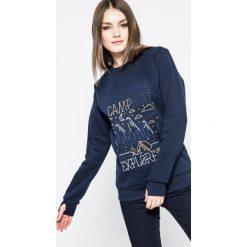 Femi Stories - Bluza Explore. Szare bluzy damskie Femi Stories, z nadrukiem, z bawełny. W wyprzedaży za 159.90 zł.