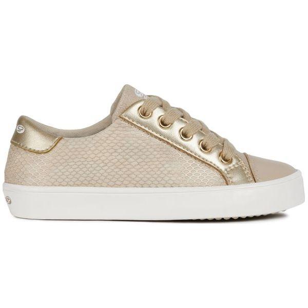 c1fe3875 Geox Tenisówki Dziewczęce Gisli 32 Beżowy - Buty sportowe dziewczęce ...