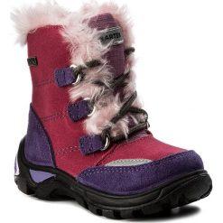 Śniegowce BARTEK - 21528/22K Różowy. Śniegowce dziewczęce Bartek, z materiału. W wyprzedaży za 159.00 zł.