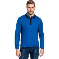 Sweter FLAVIO 15-73JK. Czarne swetry przez głowę męskie Giacomo Conti, na jesień, z jeansu. Za 169.00 zł.
