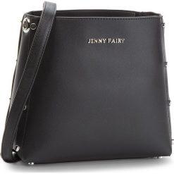 Torebka JENNY FAIRY - RH1082 Black. Czarne listonoszki damskie Jenny Fairy, ze skóry ekologicznej. Za 69.99 zł.
