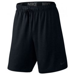 """Nike Spodenki Treningowe Dri Fit Training Fleece 8"""" 817417 010 L. Czarne krótkie spodenki sportowe męskie Nike, z dzianiny. W wyprzedaży za 139.00 zł."""