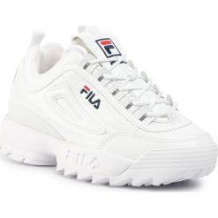 Wyprzedaż białe obuwie damskie Fila Kolekcja wiosna 2020