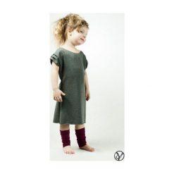 Sukienka ciemnoszara dziecięca. Sukienki niemowlęce marki Reserved. Za 79.00 zł.