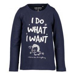 Blue Seven Koszulka Dziewczęca Z Napisem 104 Niebieska. Niebieskie bluzki dla dziewczynek Blue Seven, z nadrukiem. Za 45.00 zł.