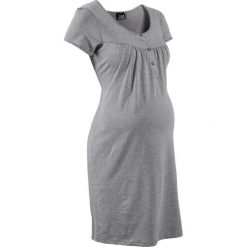Koszula nocna ciążowa i do karmienia bonprix jasnoszary melanż. Koszule nocne damskie marki MAKE ME BIO. Za 44.99 zł.