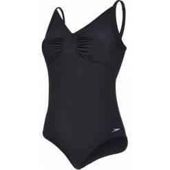Speedo Strój Sculpture Watergem Black 38. Czarne kostiumy jednoczęściowe damskie Speedo. W wyprzedaży za 199.00 zł.