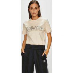 Adidas Originals - Top. Szare topy damskie adidas Originals, z krótkim rękawem. Za 149.90 zł.