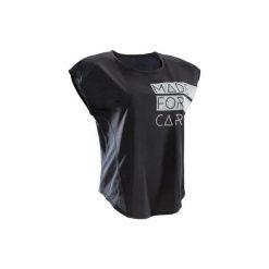 Koszulka fitness krótki rękaw 120 damska. Koszulki sportowe damskie marki WED'ZE. W wyprzedaży za 24.99 zł.