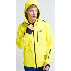 Kurtka narciarska męska KUMN161 - żółty cytrynowy. Kurtki męskie marki KIPSTA. Za 1,999.99 zł.