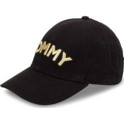 Czapka z daszkiem TOMMY HILFIGER - Tommy Patch Cap AW0AW05945 002. Czarne czapki i kapelusze damskie Tommy Hilfiger, z bawełny. Za 179.00 zł.