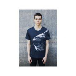 T-shirt Dog's Nose. Szare t-shirty męskie Bahabay, z nadrukiem, z bawełny. Za 83.30 zł.