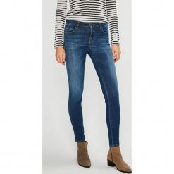 Guess Jeans - Jeansy Sexy Curve. Niebieskie jeansy damskie Guess Jeans. Za 549.90 zł.