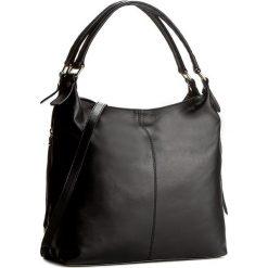 Torebka CREOLE - K10306 Czarny. Czarne torby na ramię damskie Creole. Za 369.00 zł.
