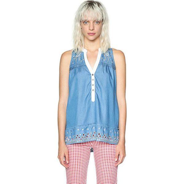 131ada01 Desigual Damska bluzka Blus Mi Musa 18SWBD08 5007 (rozmiar XS)