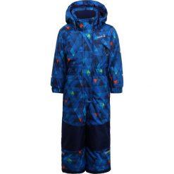 Kamik MERLIN FREEFALL  Spodnie narciarskie navy. Spodnie materiałowe dla dziewczynek Kamik, z materiału. W wyprzedaży za 407.20 zł.