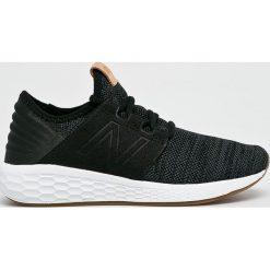 New Balance - Buty WCRUZKB2. Brązowe obuwie sportowe damskie New Balance, z gumy. Za 379.90 zł.