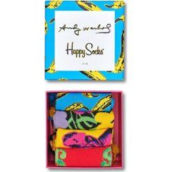 Happy Socks - Skarpety Andy Warhol Gift Box. Szare skarpety męskie Happy Socks. W wyprzedaży za 139.90 zł.