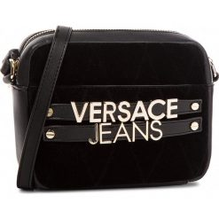 Torebka VERSACE JEANS - E1VSBBL4-70713 M57. Czarne listonoszki damskie Versace Jeans, z jeansu. W wyprzedaży za 499.00 zł.