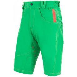 Sensor Luźne, Męskie Spodenki Rowerowe Cyklo Charger  Green. Zielone krótkie spodenki sportowe męskie Sensor. W wyprzedaży za 249.00 zł.