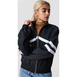 NA-KD Trend Kurtka Stripe Detailed Tracksuit - Black. Czarne kurtki damskie NA-KD Trend, w paski. Za 161.95 zł.