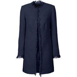 Płaszcz boucle bonprix ciemnoniebieski. Płaszcze damskie marki FOUGANZA. Za 189.99 zł.