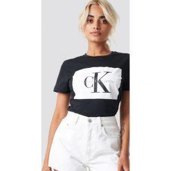 Calvin Klein T-shirt Tanya 40 Crew Neck - Black. Czarne t-shirty damskie Calvin Klein, z dzianiny. Za 202.95 zł.