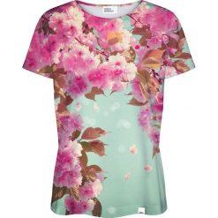 Colour Pleasure Koszulka damska CP-030 221 zielono-różowa r. XL/XXL. T-shirty damskie Colour Pleasure. Za 70.35 zł.