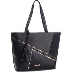 Torebka MONNARI - BAG4830-020 Black. Czarne torebki do ręki damskie Monnari, ze skóry ekologicznej. W wyprzedaży za 199.00 zł.