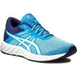 Buty ASICS - FuzeX Lyte 2 T769N Diva Blue/Silver/Indigo Blue 4393. Niebieskie obuwie sportowe damskie Asics, z materiału. W wyprzedaży za 269.00 zł.