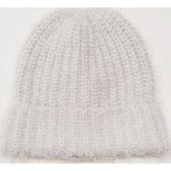 Czapka - Jasny szar. Szare czapki i kapelusze damskie House. Za 39.99 zł.