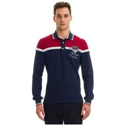 Galvanni Koszulka Polo Męska Harau Xxl, Ciemnoniebieski. Czarne bluzki z długim rękawem męskie Galvanni, z materiału, polo. W wyprzedaży za 269.00 zł.
