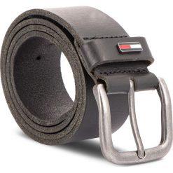 Pasek Męski TOMMY JEANS - Tjm Flag Loop Giftbo AM0AM04136 85 002. Czarne paski damskie Tommy Jeans, w paski, z jeansu. Za 179.00 zł.