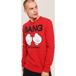 Bluza Mickey Mouse - Czerwony. Czerwone bluzy męskie House, z motywem z bajki. Za 99.99 zł.