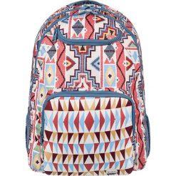 """Plecak """"Shaddow Swell"""" z kolorowym wzorem - 33 x 45,5 x 14 cm. Plecaki damskie Roxy, w kolorowe wzory, z tkaniny. W wyprzedaży za 108.95 zł."""