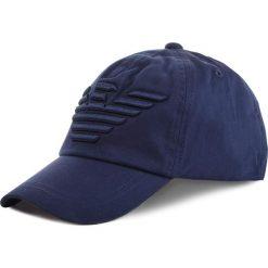 Czapka z daszkiem EMPORIO ARMANI - 404581 9P588 57235 Peacot Blue. Niebieskie czapki i kapelusze męskie Emporio Armani. Za 249.00 zł.