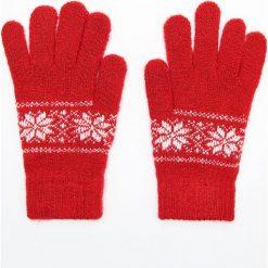 Rękawiczki - Czerwony. Czerwone rękawiczki damskie Cropp. Za 24.99 zł.