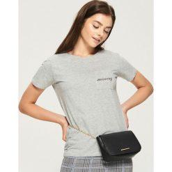 Bawełniany t-shirt z kieszenią - Jasny szar. T-shirty damskie marki DOMYOS. W wyprzedaży za 14.99 zł.