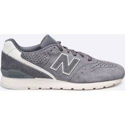 New Balance - Buty. Szare buty sportowe męskie New Balance, z materiału. W wyprzedaży za 239.90 zł.