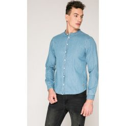 Casual Friday - Koszula. Szare koszule męskie Casual Friday, z bawełny, ze stójką, z długim rękawem. W wyprzedaży za 129.90 zł.