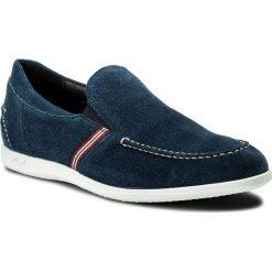 Półbuty LLOYD - Ben 18-044-28 Jeans. Niebieskie półbuty na co dzień męskie Lloyd, z jeansu. W wyprzedaży za 349.00 zł.