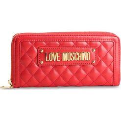 Duży Portfel Damski LOVE MOSCHINO - JC5612PP17LA0500  Rosso. Czerwone portfele damskie Love Moschino, ze skóry ekologicznej. Za 429.00 zł.